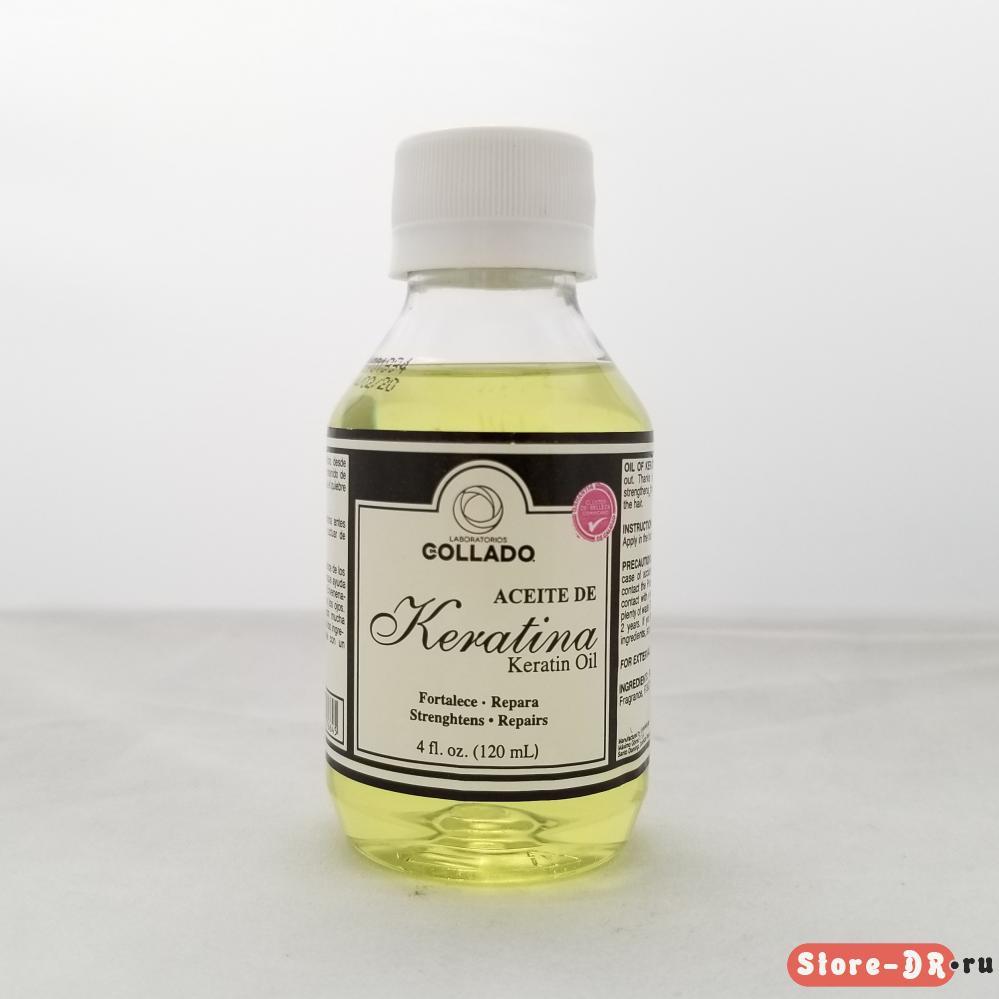Aciete de Keratina Laboratorios dr. Collado 4 oz 120 ml